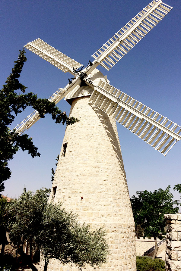 Montefiore's Windmill in Jerusalem